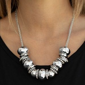 Only The Brave White necklace
